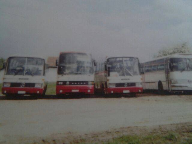 Prvih sedam autobusa
